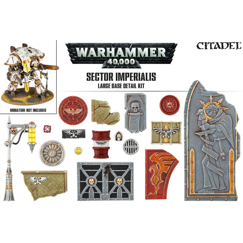 Sector Imperialis: grand kit de soclage