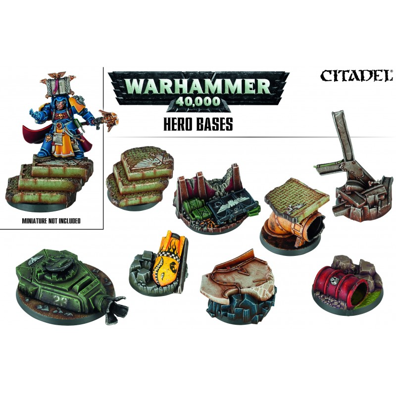 Socles de Héros Warhammer 40,000