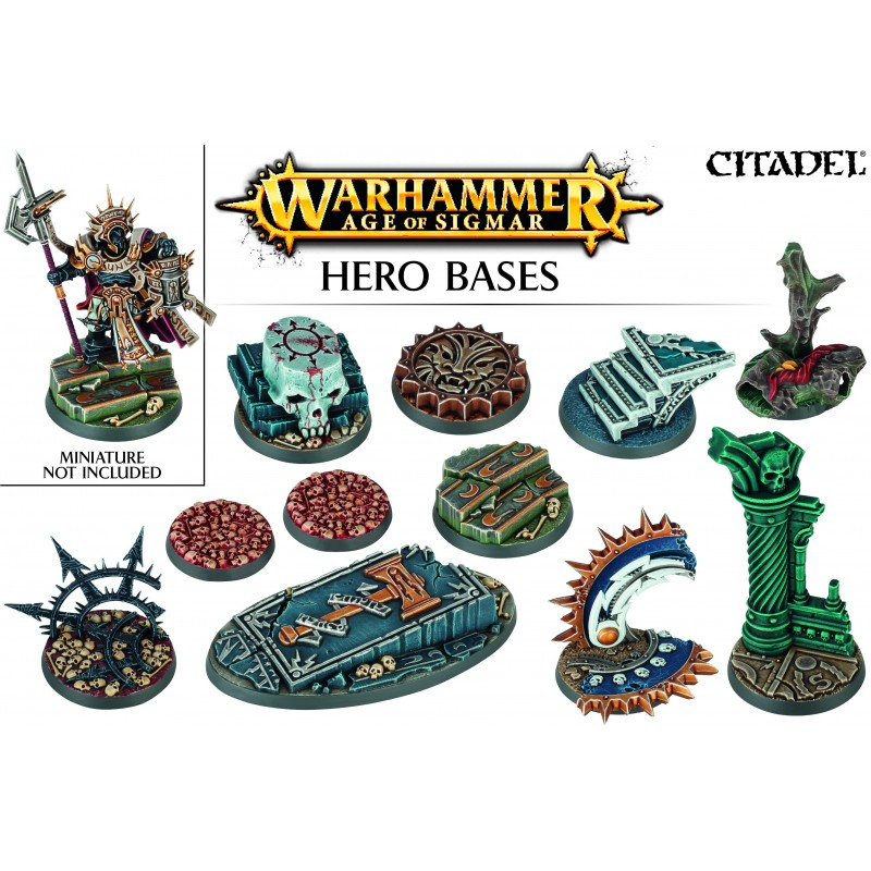 Socles de Héros Warhammer Age of Sigmar