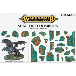 Shattered Dominion: Kit de décor pour grand socle