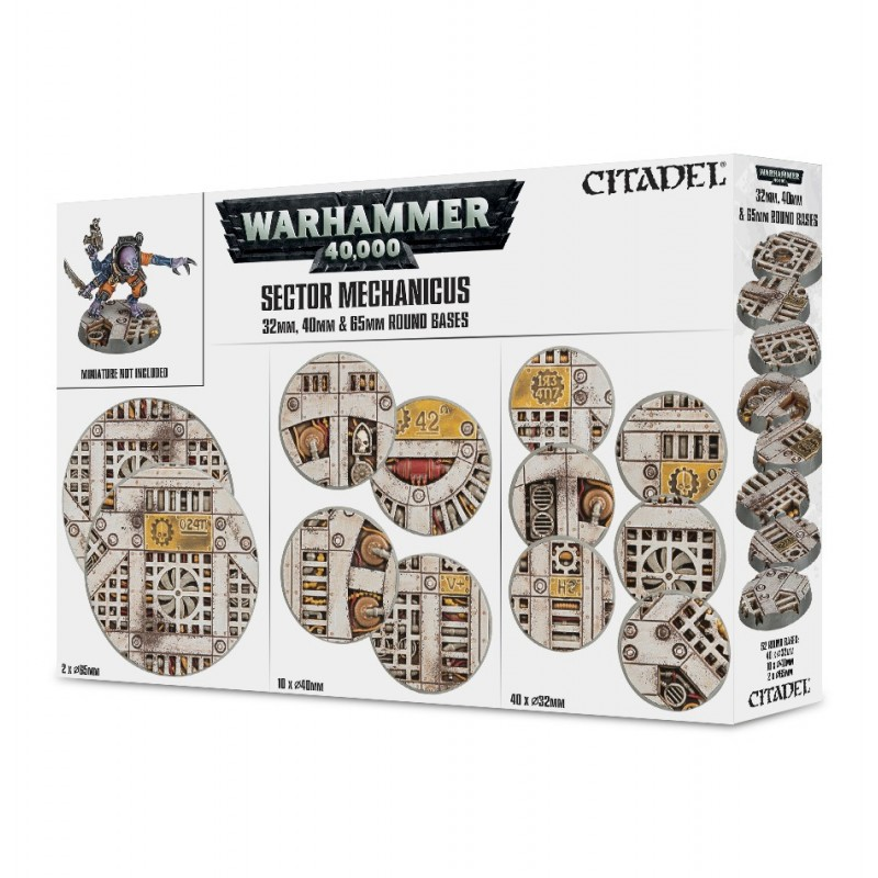 Socles industriels Sector Mechanicus