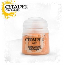 Citadel Dry Paints Golgfag Brown