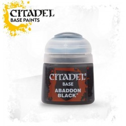 Citadel Base Paints Abaddon Black