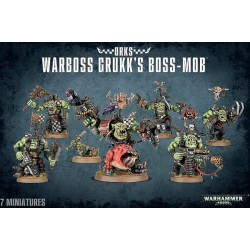 Warboss Grukk's Boss Mob Orks