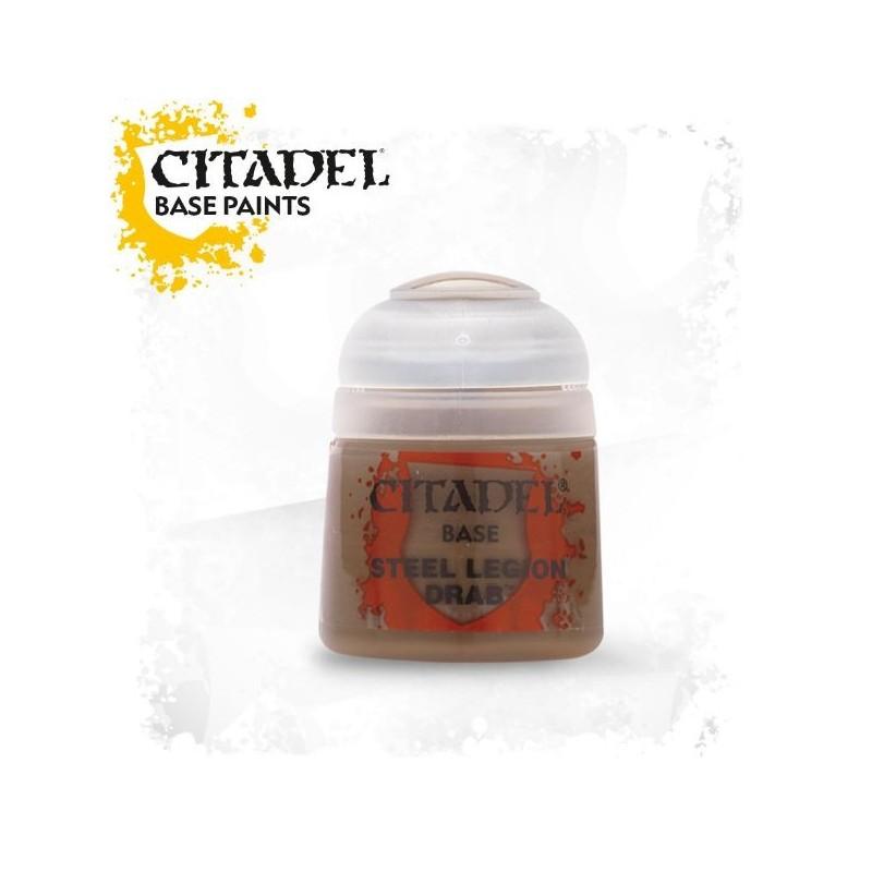 Citadel Base Paints Steel Legion Drab