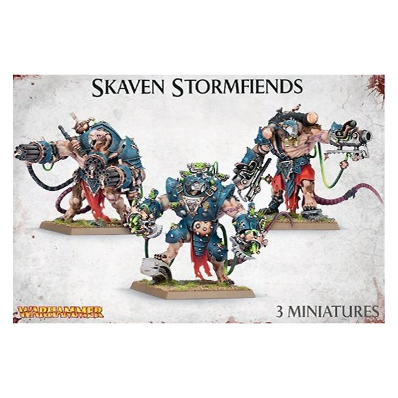 Stormfiends Skavens