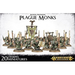 Moines de la Peste Skavens - Plague Monks