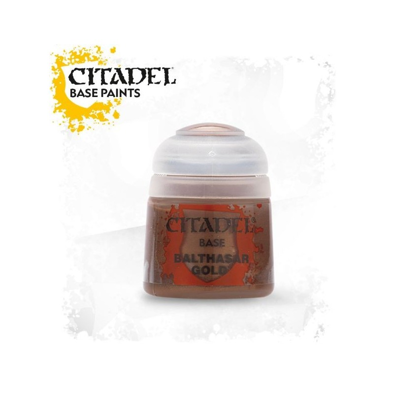 Citadel Base Paints Balthasar Gold