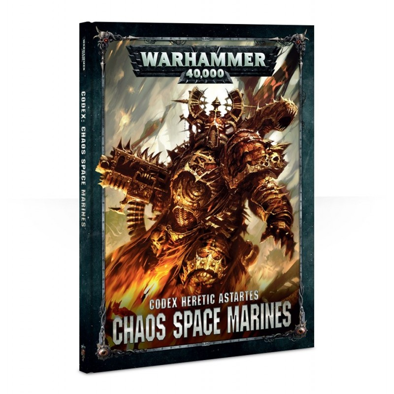 Codex Chaos Space Marines (Hardback)