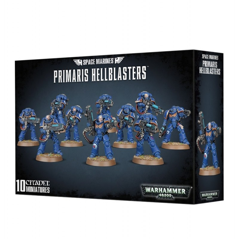 Primaris Hellblasters - Space Marines