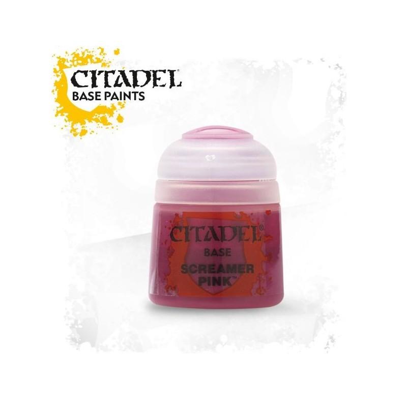 Citadel Base Paints Screamer Pink