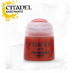 Citadel Base Paints Mephiston Red