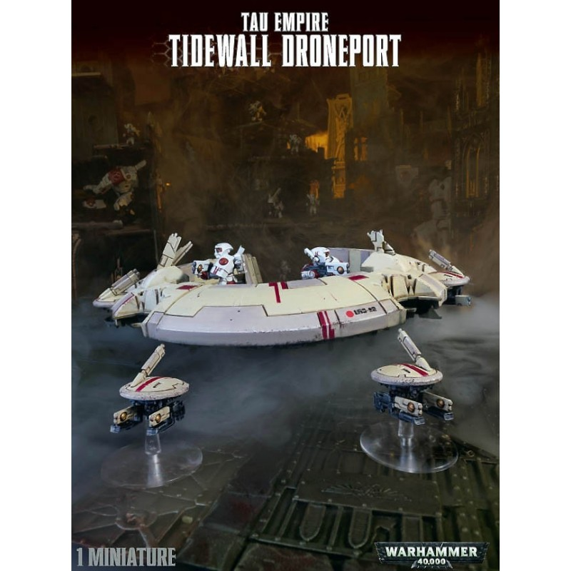 Tidewall Drone Port Tau Empire