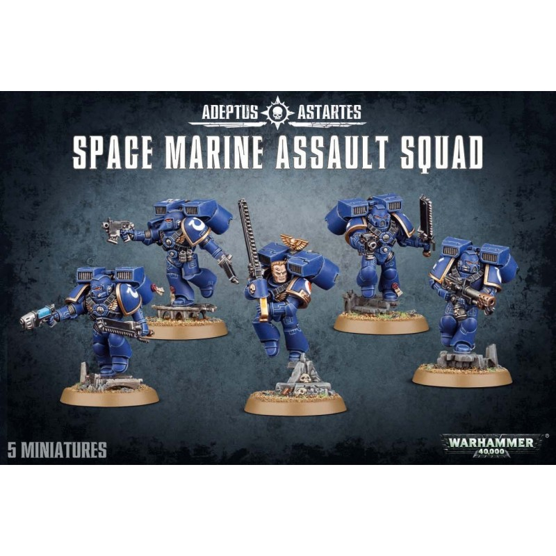 Assault Squad Space Marines