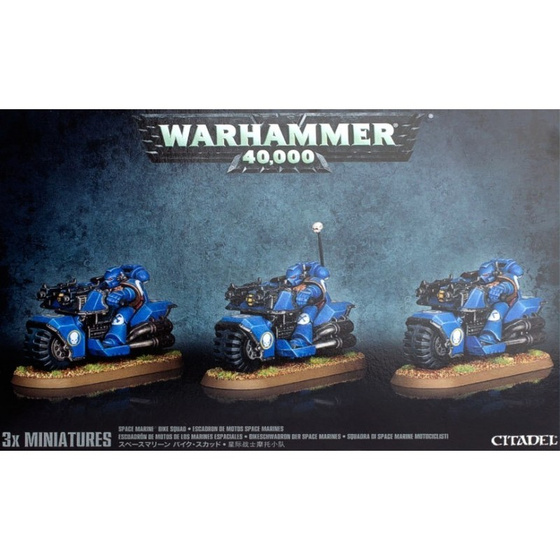Bike Squad Space Marines