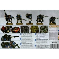 Scouts Squad avec fusils de snipers Space Marines