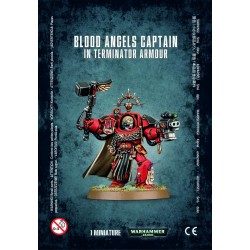 Captain en Armure Terminator - Blood Angels