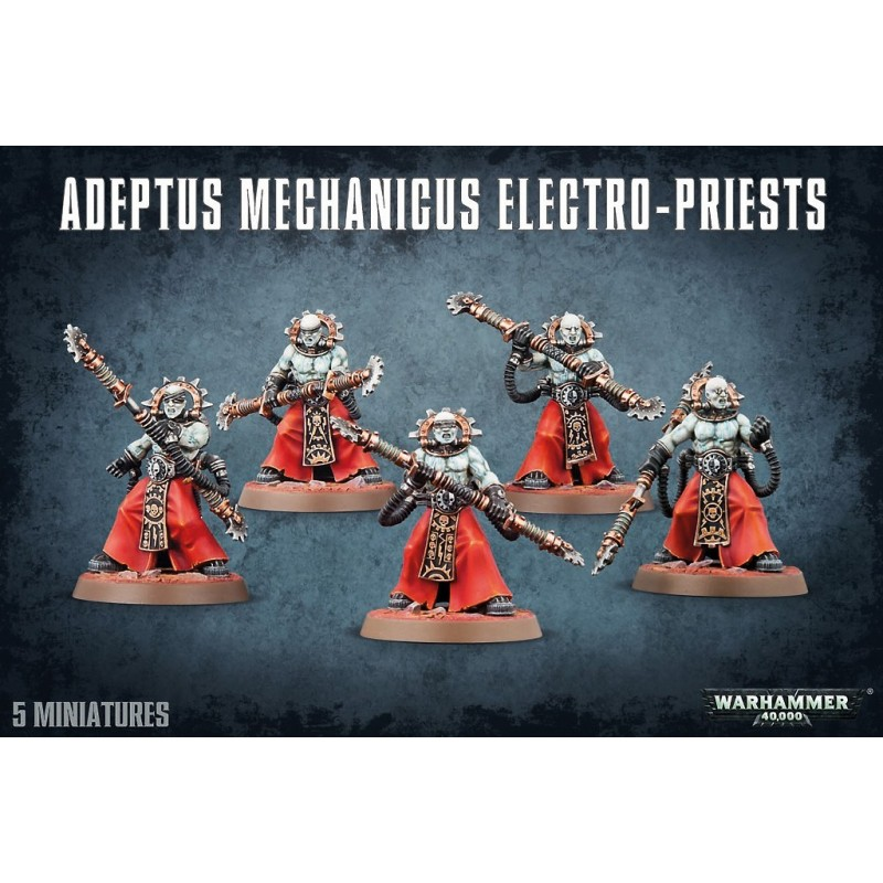 Electro-Priests - Adeptus Mechanicus