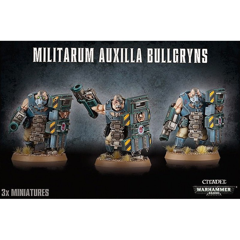 Bullgryns - Astra Militarum Auxilla