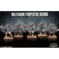 Scions Command Squad- Astra Militarum Tempestus