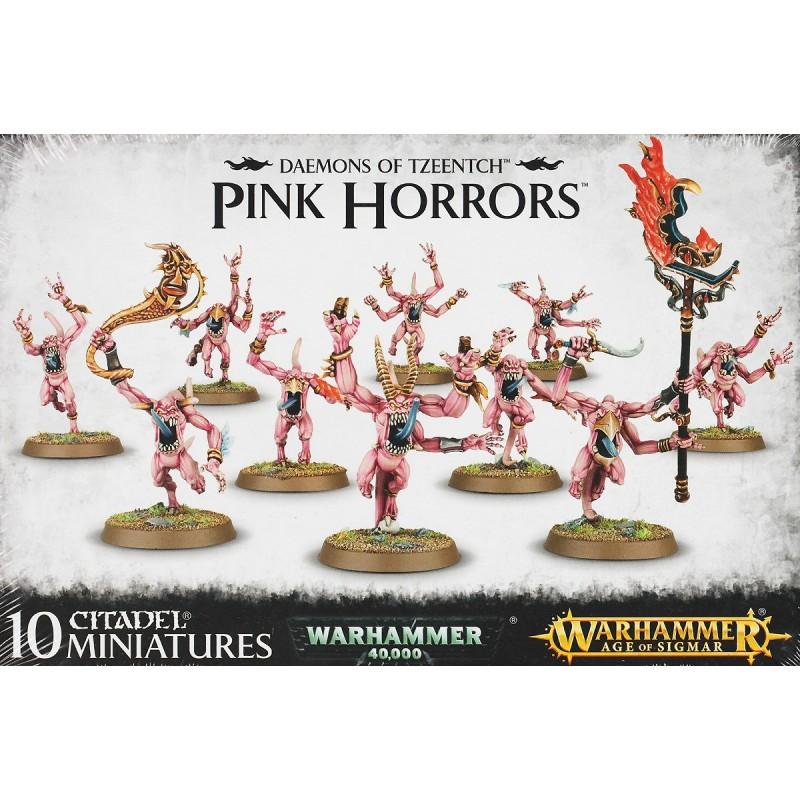 Pink Horrors - Tzeentch Daemons