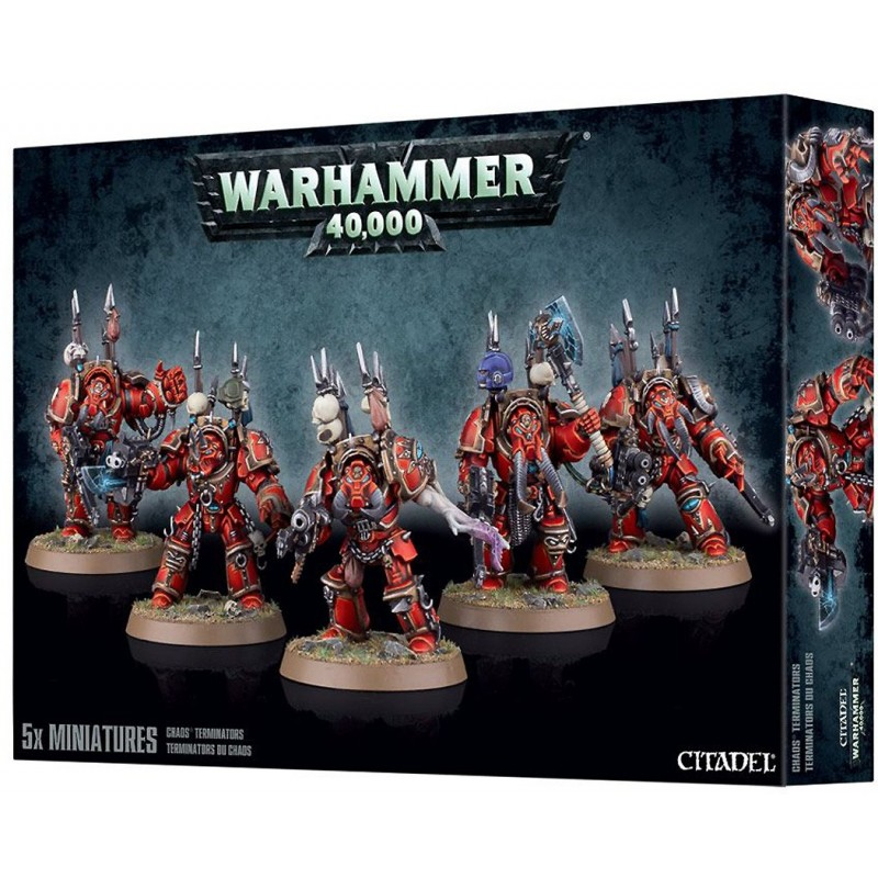 Terminators - Chaos Space Marines