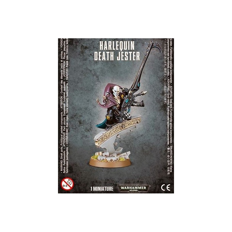 Harlequin Death Jester - Bouffon Tragique