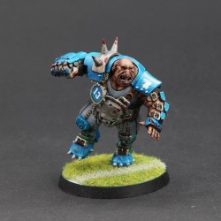 Blood Bowl Ogre par Evil's God Painting - https://www.facebook.com/evilsgodpainting