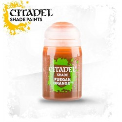 Citadel Shade Paints Fuegan Orange
