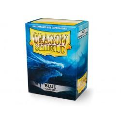 Protège cartes (X100) - Dragon Shield Blue