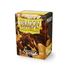 Protège cartes (X100) - Dragon Shield Copper