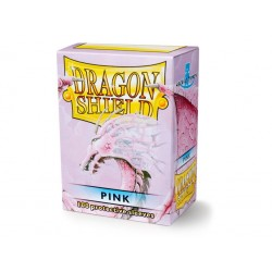 Protège cartes (X100) - Dragon Shield Pink