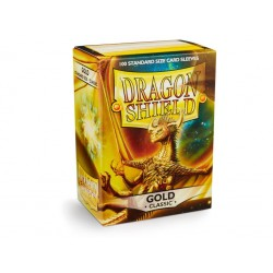 Protège cartes (X100) - Dragon Shield Gold