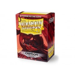 Protège cartes (X100) - Dragon Shield Crimson