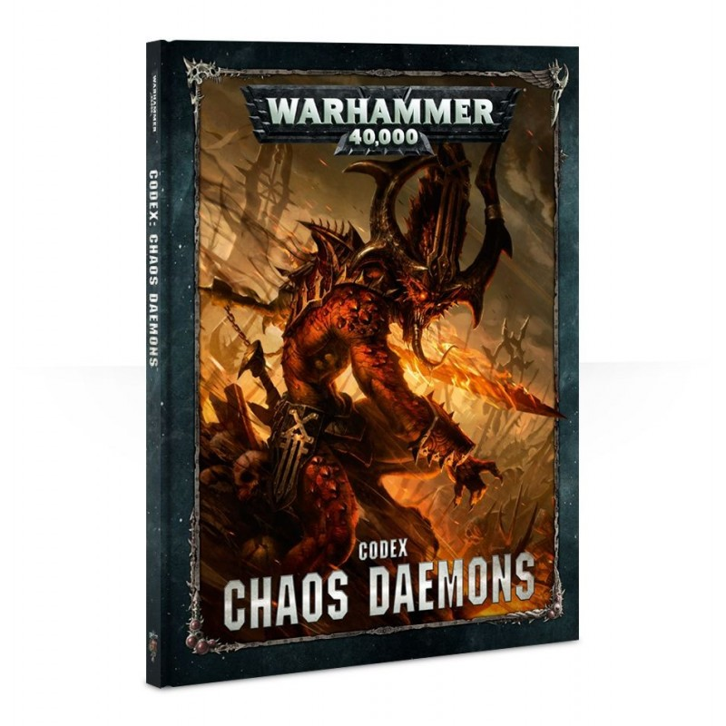 Codex Chaos Daemons (Hardback)
