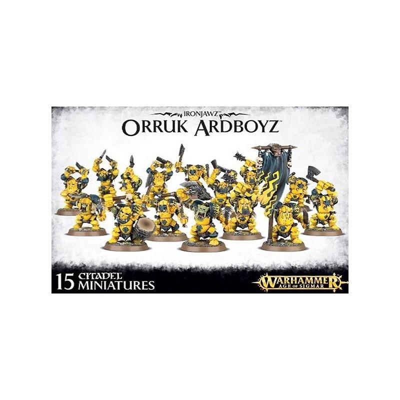 Orruk Ardboys - Ironjaws