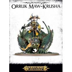 Orruk Megaboss sur Maw-krusha - Ironjaws