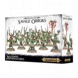 Savage Orruks - Bonesplitterz