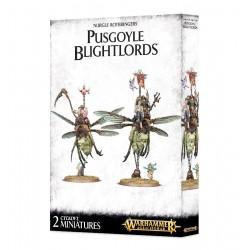 Pusgoyle Blightlords  - Nurgle Rotbringers