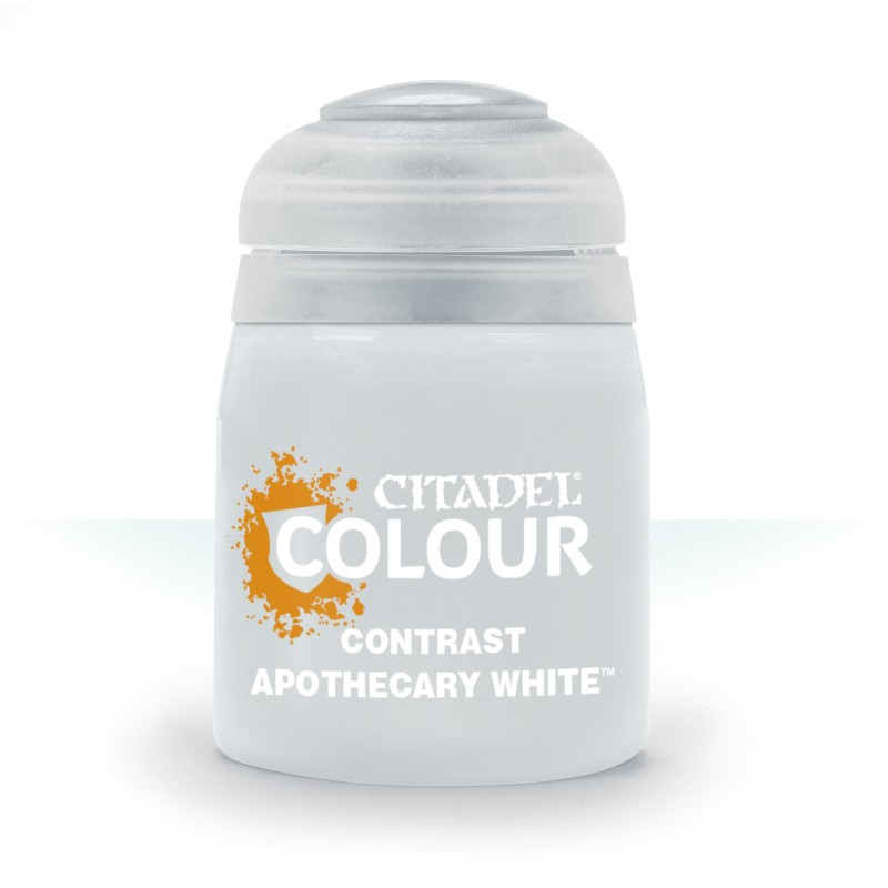 Apothecary White (Contrast)