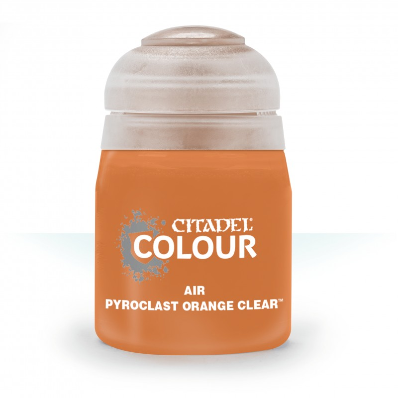 Pyroclast Orange Clear (Air)