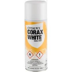 Bombe aérosol de 400ml de peinture Blanche Corax White