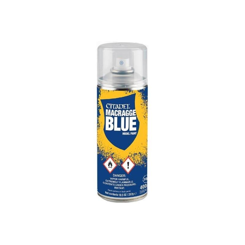 Bombe aérosol de 400ml de peinture Macragge Blue