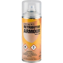 Bombe aérosol de 400ml de peinture Retributor Armour