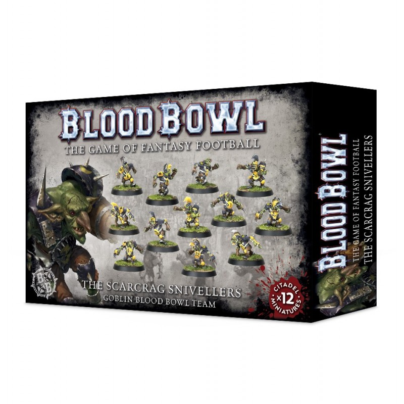 Blood Bowl: The Scarcrag Snivellers Goblins