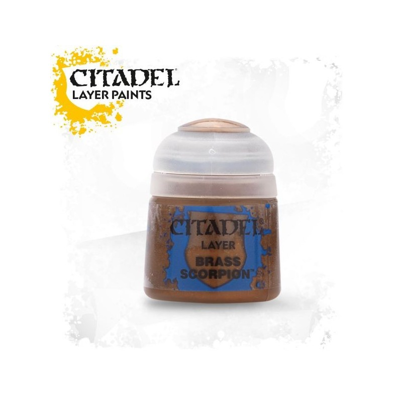 Citadel Layer Paints Brass Scorpion