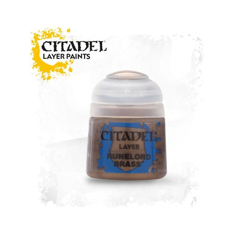 Citadel Layer Paints Runelord Brass