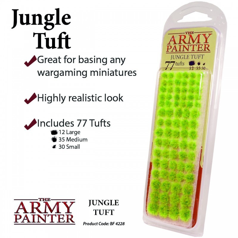 Jungle Tuft - Army Painter