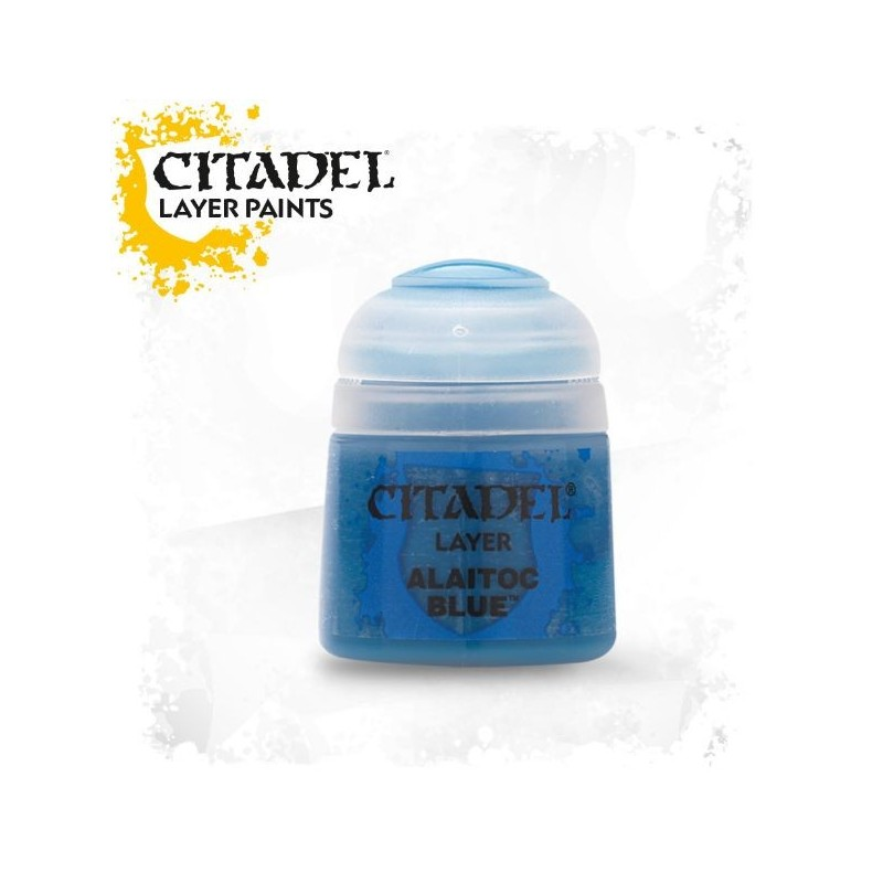 Citadel Layer Paints Alaitoc Blue