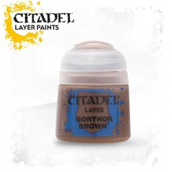 Citadel Layer Paints Gorthor Brown
